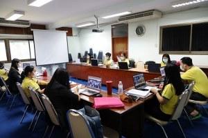 การประเมินคุณภาพการศึกษาภายในสาขาวิชาการาบัญชี วันที่ 17 พ.ค. 64